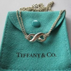 Tiffany & Co. Double Strand Infinity Necklace